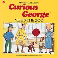 "cover image of ""Curious George Visits the Zoo by Margret Rey and H. A. Rey"