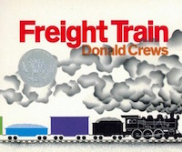 "cover image of ""Freight Train"" by Donald Crews"