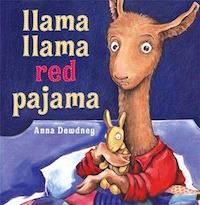 """cover art for """"Llama Llama Red Pajama"""""""