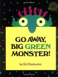 "cover image for ""Go Away, Big Green Monster!"