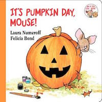 "cover image for ""It's Pumpkin Day, Mouse!"""