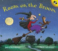 "cover image for ""Room on the Broom"" by Julia Donaldson"