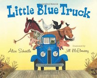 "cover image for ""Little Blue Truck"""