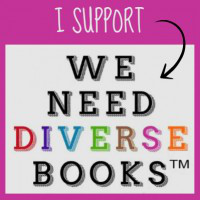We Need Diverse Books support button