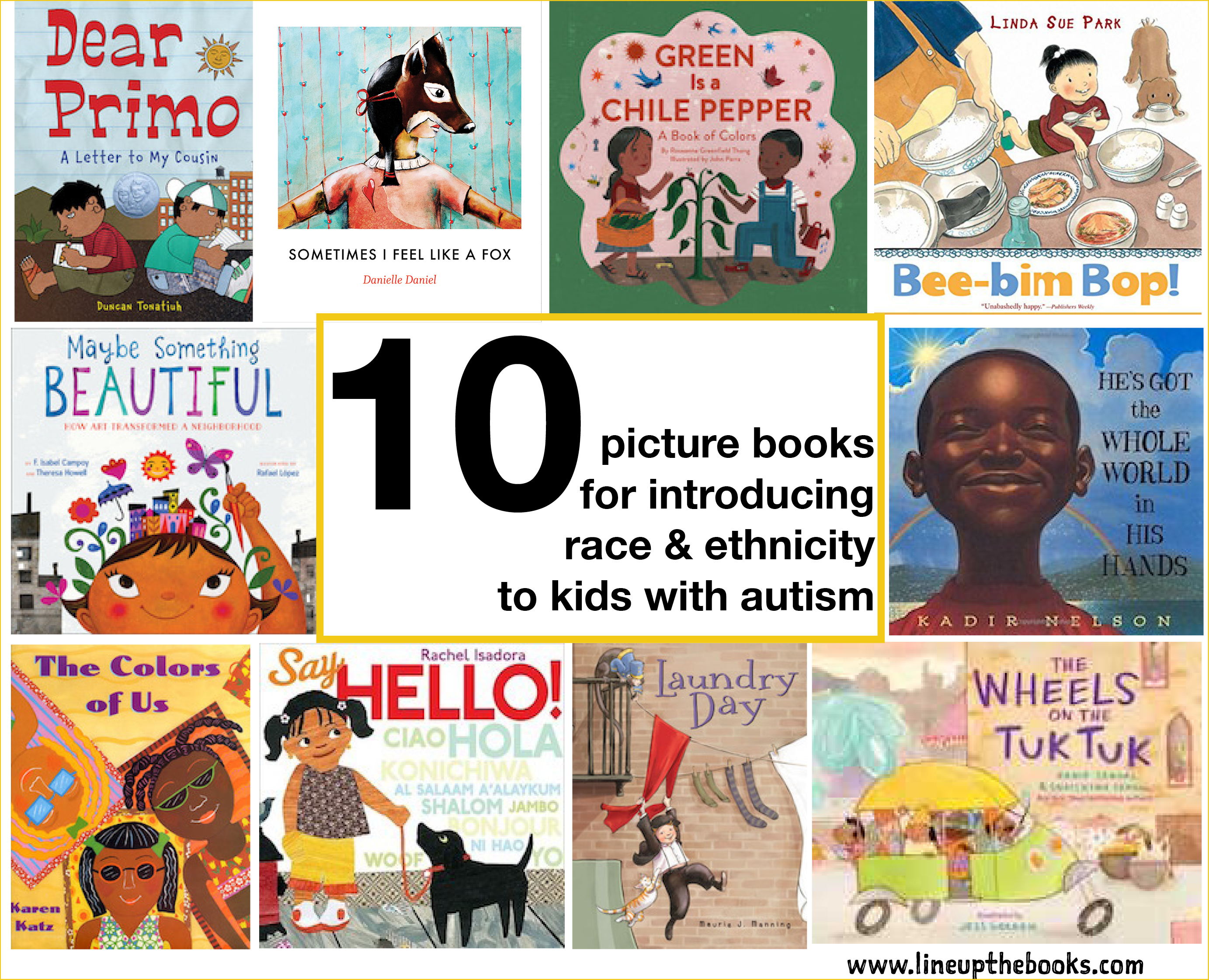 10 Books to Introduce Race & Ethnicity to Kids with Autism