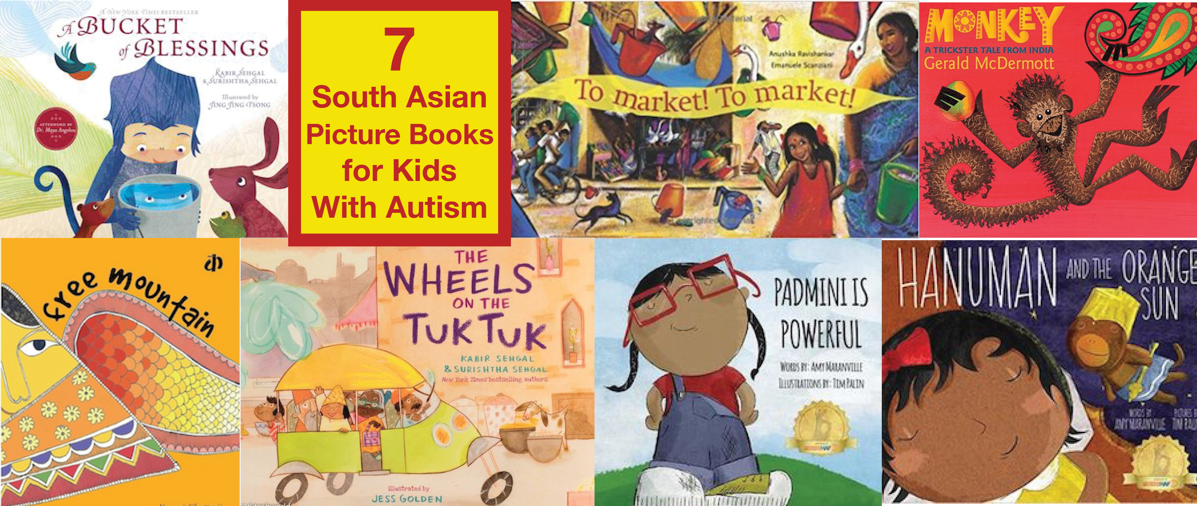 7 South Asian Picture Books for Kids with Autism