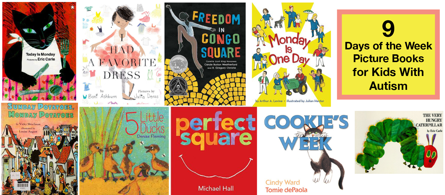 learning the days of the week 9 great picture books