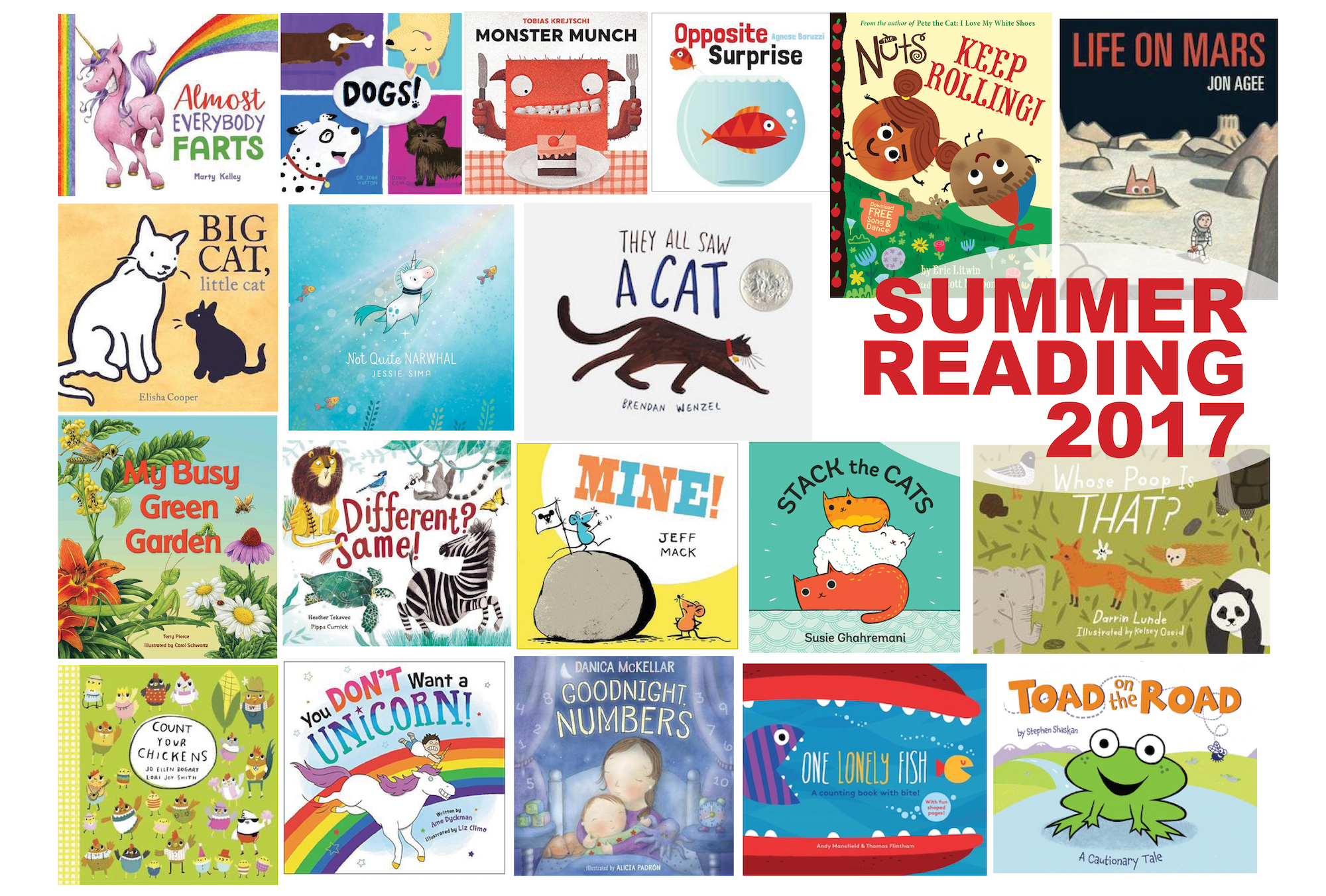 2017 Children's Summer Reading List (Part 2)