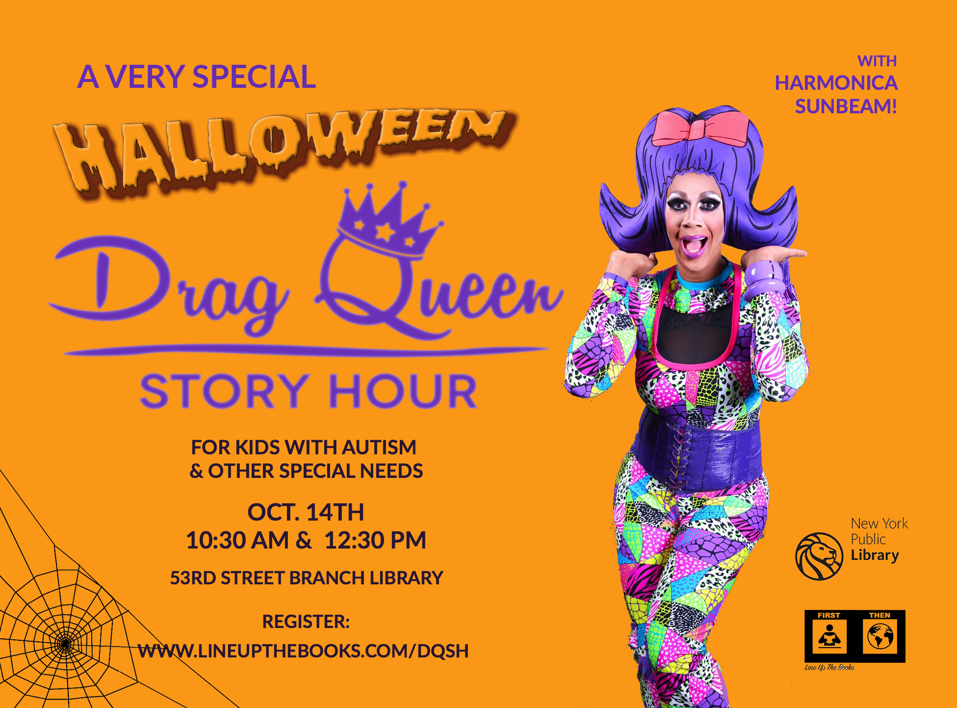 Presenting... Drag Queen Story Hour for Kids with Autism!