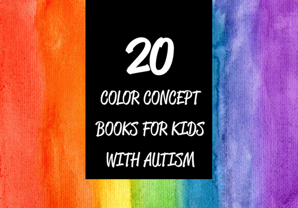 20 Color Concept Books for Kids with Autism