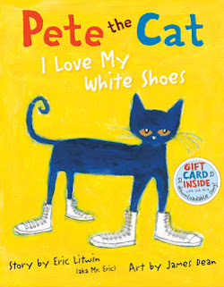 cover image for Pete the Cat: I Love My White Shoes by Eric Litwin and James Dean