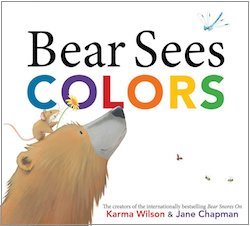 cover image for Bear Sees Colors by Karma Wilson