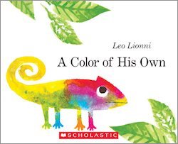 cover image of A Color of His Own by Leo Lionni