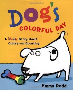cover image for Dog's Colorful Day by Emma Dodd