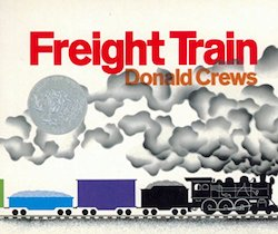 cover image for Freight Train by Donald Crews