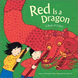 cover image for Red is a Dragon