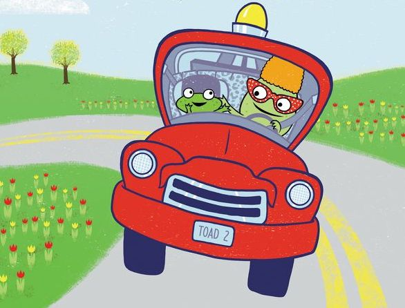 "Interview with ""Toad on the Road"" Author & Illustrator Stephen Shaskan"